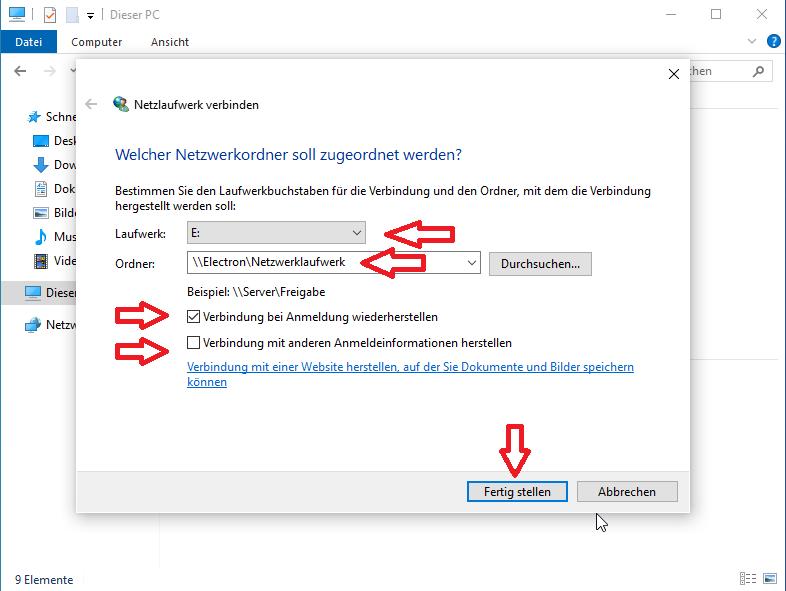 Netzwerkordner Erstellen Windows 10