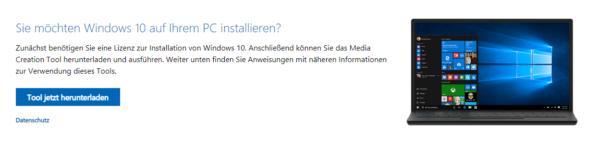 Windows 10 installieren: Bootfähigen USB-Stick erstellen